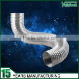 stainless steel aluminium foil flexible duct for kitchen ventilation