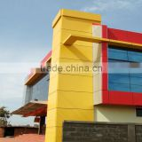 4mm waterproof PVDF coating facade aluminum plastic composite decorative wall covering panels