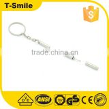 promotional Eyeglass repair Mini Screwdriver Keychain Glasses Frame Repair Tool