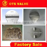 VP-LY-003different size and type stainless steel /plated ductile iron disc of butterfly valve