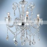 Modern Glass Chandelier Lighting Pendant Hanging Light Fixture 4 Arms Suspension Lamp CZ3542/4