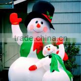 2012 hot christmas production,inflatable snow man decoration