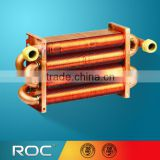 Dual Pipe heat exchanger, tube in tube heat exchanger for wall mounted gas boiler