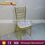 foshan gold and white chivari tiffany wedding chair                                                                         Quality Choice
