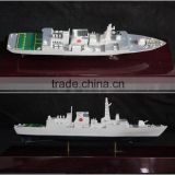 Plastic Military Ship Model Warship Figurine