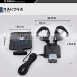 Outdoor solar LED lights, the human body induction lamp, waterproof double induction street light, solar garden light