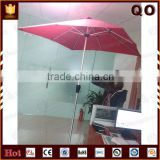 Best selling special shape outdoor sun protect cafe umbrella for sale