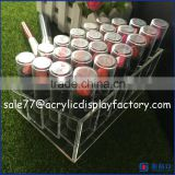 clear acrylic lipstick box organizer,acrylic lipstick holder box,24 lipstick acrylic storage display stand
