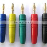 2mm banana plug and socket with insulated body