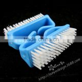 Fashionable beauty tool/bule plastic nail brush/cleaning brush