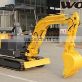 0.08m3-0.2m3 bucket capacity small/mini crawler excavator,hydraulic excavator with CE/ISO approved