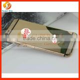 gold diamond middle frame for iphone 6 plated back cover housing factorysy special desgin luxury mirror