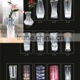 glass bottle home decorate crystal glass vases for flower arrangement                                                                         Quality Choice