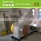 PVC/HDPE pipe plastic recycling crusher machine