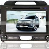 SPORTAGE R Specific 8 inch Car DVD GPS withTV,RDS, Bluetooth, iPod, Radio, steering wheel control, rear view camera, etc.