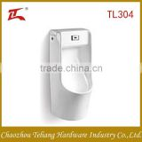 Auto Flushing Urinal Sensor Back Spud Good Quality New Moden Bathroom Sanitary Ware Urinal for Men