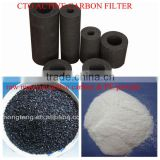 "10"" Coconut shell activated carbon block filter cartridge from Hongteng Manufacturer"