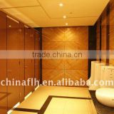 High Quality Waterproof Hpl Public Use Bathroom Partitions For Ktv