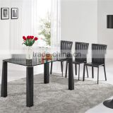 L856 Living Room Furniture Black Kitchen Table Sets
