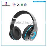 Headphone Headset Stereo Sound with Microphone Compatible with Cell phones and Computers 3.5mm
