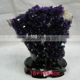 Natural Rock Mineral Specimens Amethyst cluster