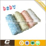 SGS Testing China Manufacture 2 Layers Blanket Rose Minky Fleece Baby Blanket                                                                         Quality Choice Image