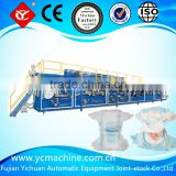 YC-Full Servo Automatic Machine to Make Disposable Baby Diaper