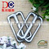 China Button Manufactory Metal Hook and Loop Belt Buckle