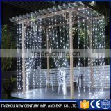 wedding decoration led waterfall fiber optic light curtain