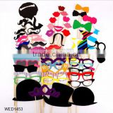 60Pcs Colorful Fun Lip wedding decoration Photo Booth Props wedding party decoration favors birthday new year event favors                                                                                                         Supplier's Choice