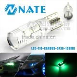 Car accessories auto LED lamp light T10 5730 10smd canbus error free T10 led width light