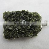 wholesale natural rough tourmaline pendants stone