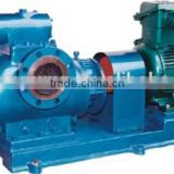 Crude oil pump Horizontal twin screw pump used for marine cargo oil, heavy oil, chemicals, food and other viscous liquids