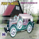 3D Wooden Puzzle - (FORD) V8 MODEL- Wood Craft - Self Construction Kit
