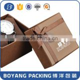 OEM/ODM Shenzhen factory logo paper watch box