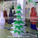 Outdoor wedding/christmas/Halloween LED sculpture light acrylic decorations tree ABS light led cherry blossom tree light