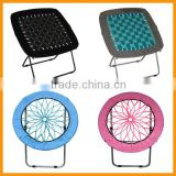 Folding round bungee chair