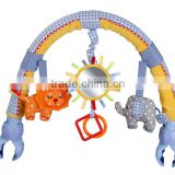 Buggy Arch, musical elephant travel arch