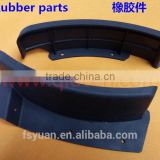 Custom Molded Oil Resistant NBR / High Temperature Viton / Food Grade Silicone / Weatherproof EPDM Rubber Part