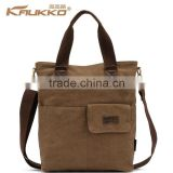 Fashion Tablet Messenger Bag Hand Carry Bag Canvas Shoulder Bag Cross Body Bag Mens Handbag Laptop Sling Bag 3 Colors