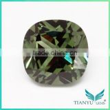 Wuzhou Gems Processing Loose Synthetic #149 Light Green Nano Spinel