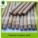Top popular factory price straight mop handle /natural wooden brush handle for sweeping tools