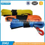 Jinli rope gray/blue/red/black Color anchor windlass rope and chain altec winch rope