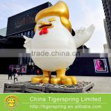 Chinese Year of Rooster President Trump Customized Inflatable Tent Inflatable Advertising Tent