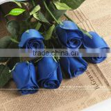FLS03-1 GNW artificial blue rose flower wedding table decoration high quality wholesale artificial flower rose
