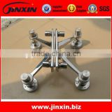 JINXIN stainless steel system fitting installation glass spider connection