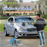 Rechargeable car wash machine, electric clean and polish brush, electric car cleaner with telescopic rod