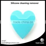 Silicone facial cleaning brush help massage muscles