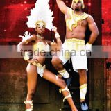 Brazilian carnival costumes for men night club wears men samba costumes