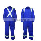 100% Cotton Fire Resistance Firefighting Suit/Anti-flame Workwear uniform